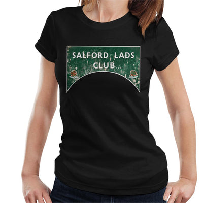 Salford Lads Club Sign Colour Women's T-Shirt - NME Merch