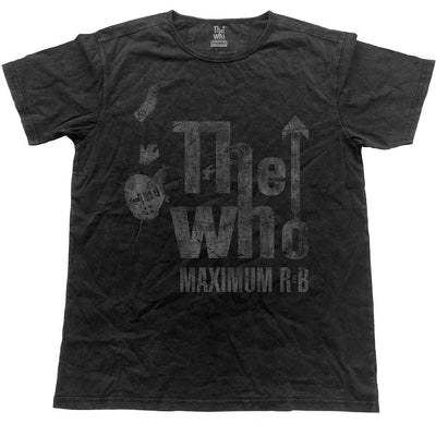 The Who Men's Fashion Tee Max R&B Vintage Finish - NME Merch