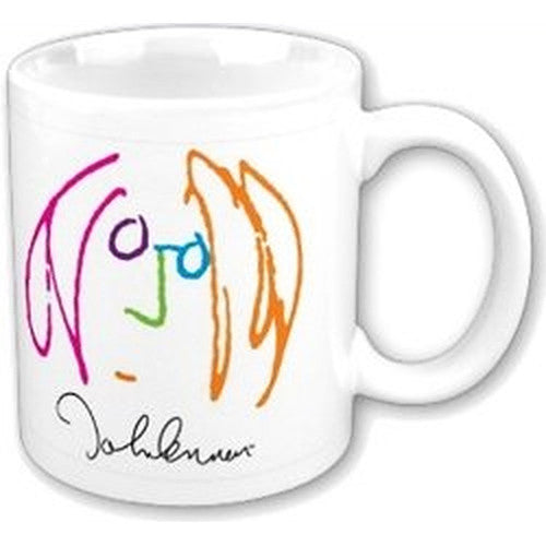 John Lennon Drawing Boxed Mug