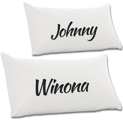 Winona & Johnny Pair Of Pillow Cases - NME Merch