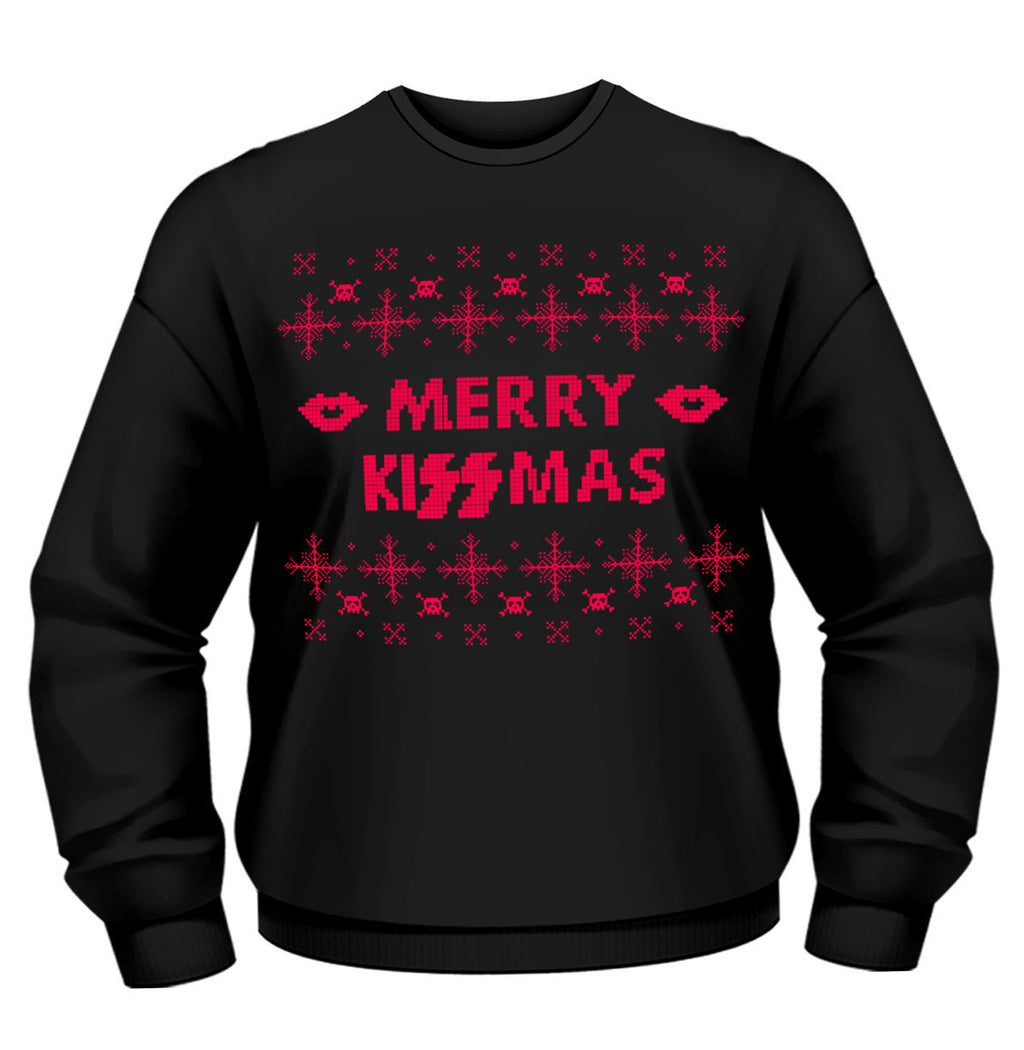 Kiss Christmas Merry Kissmas Sweatshirt