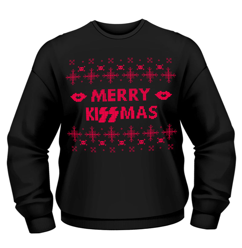 Kiss Christmas Merry Kissmas Sweatshirt - NME Merch