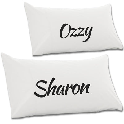 Sharon & Ozzy Pair Of Pillow Cases - NME Merch