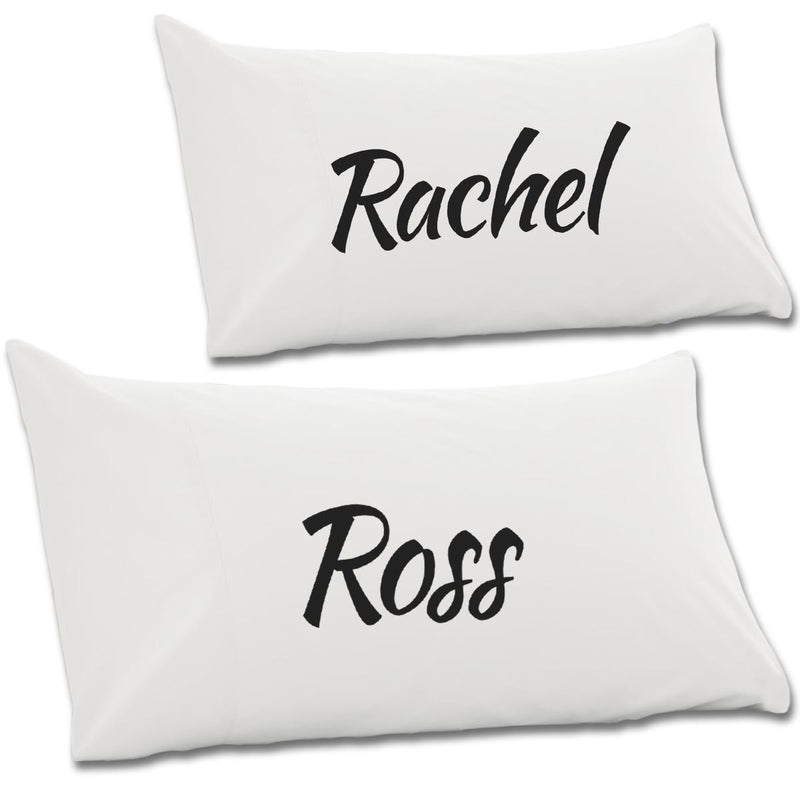 Ross & Rachel Pair Of Pillow Cases