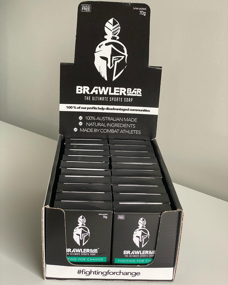 Brawler Bar Original & Impurity Rock 40 Pack