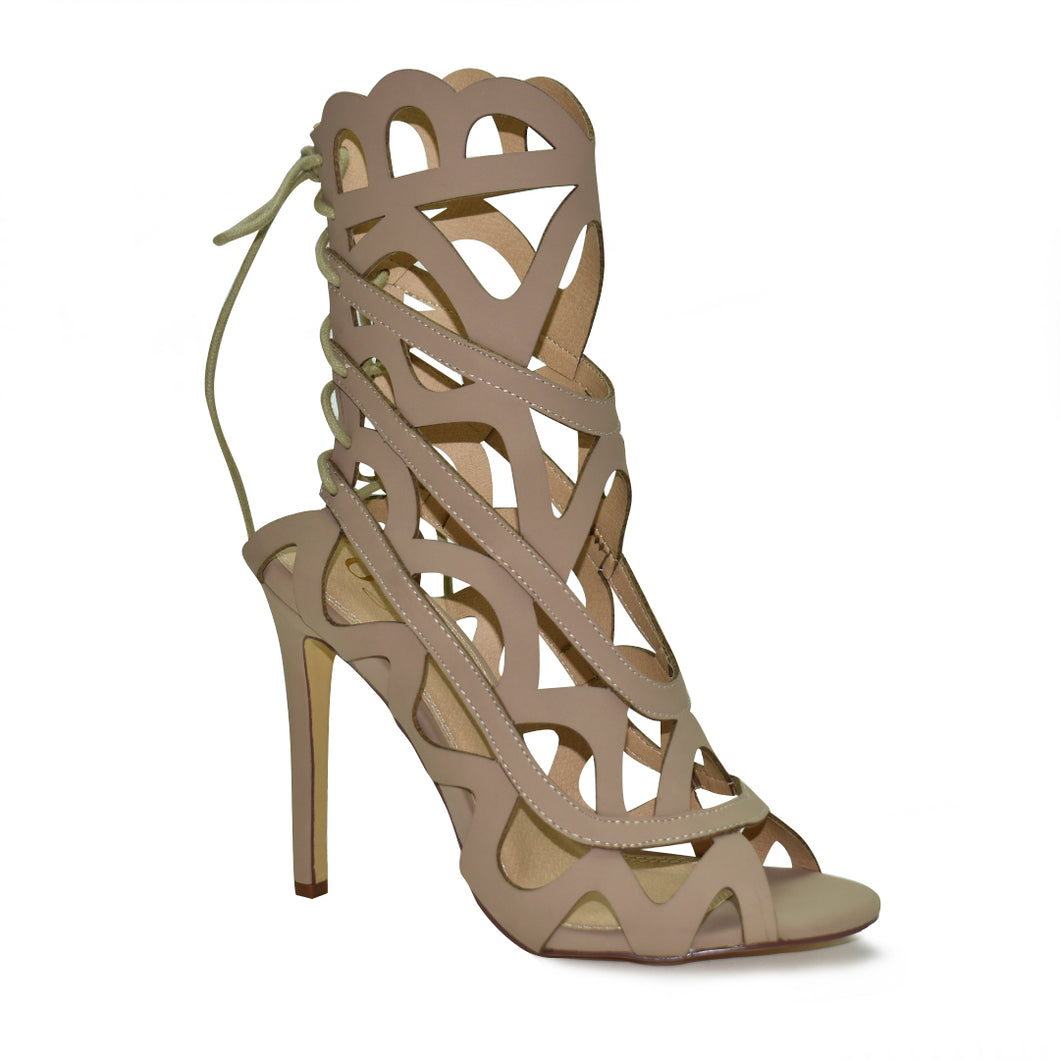 Teri Caged Sandal