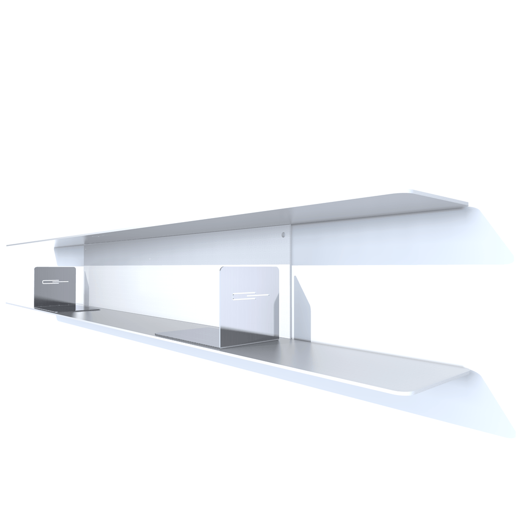 etagere cd blanche