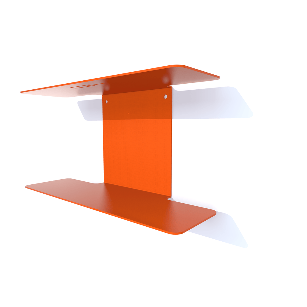 vide-poches metal double orange
