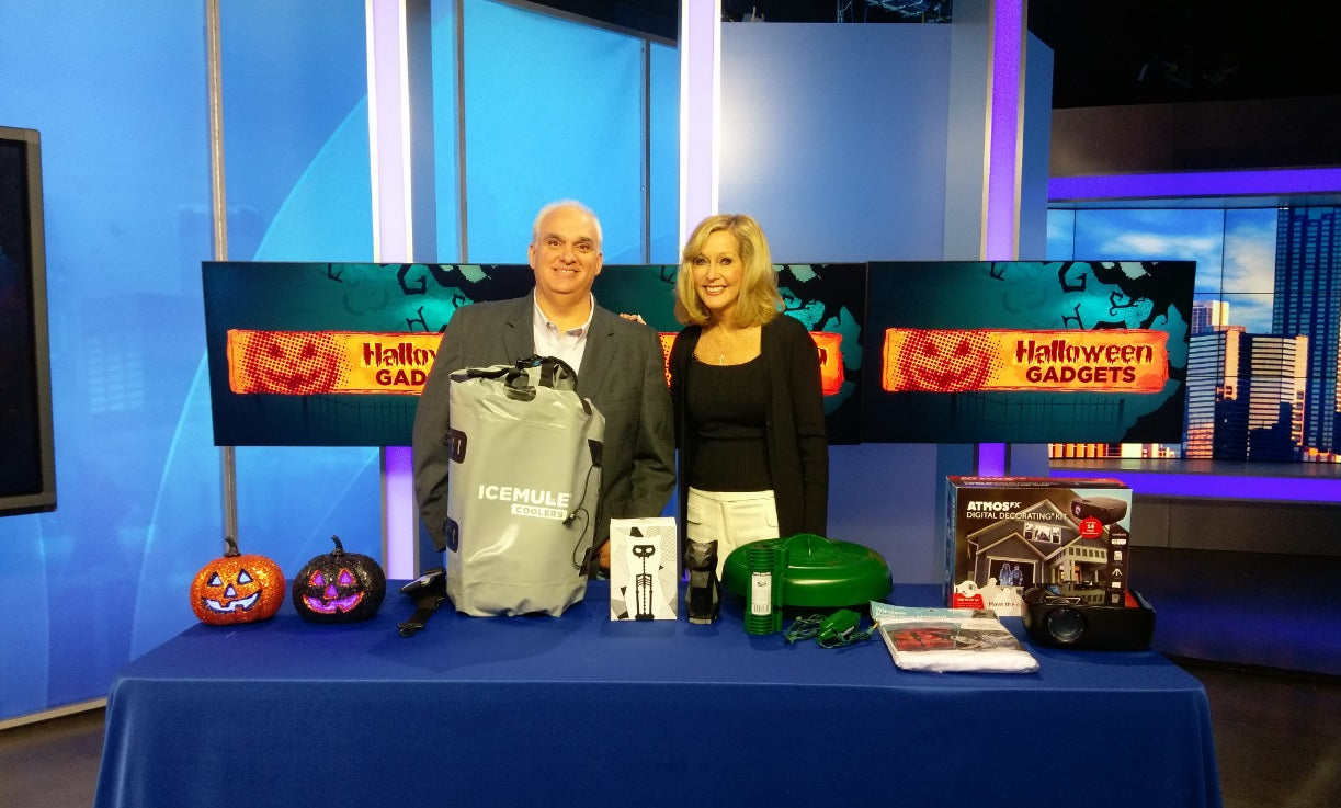Pyropet Kisa featured on CBS Atlanta's Hot Halloween Gadget Segment