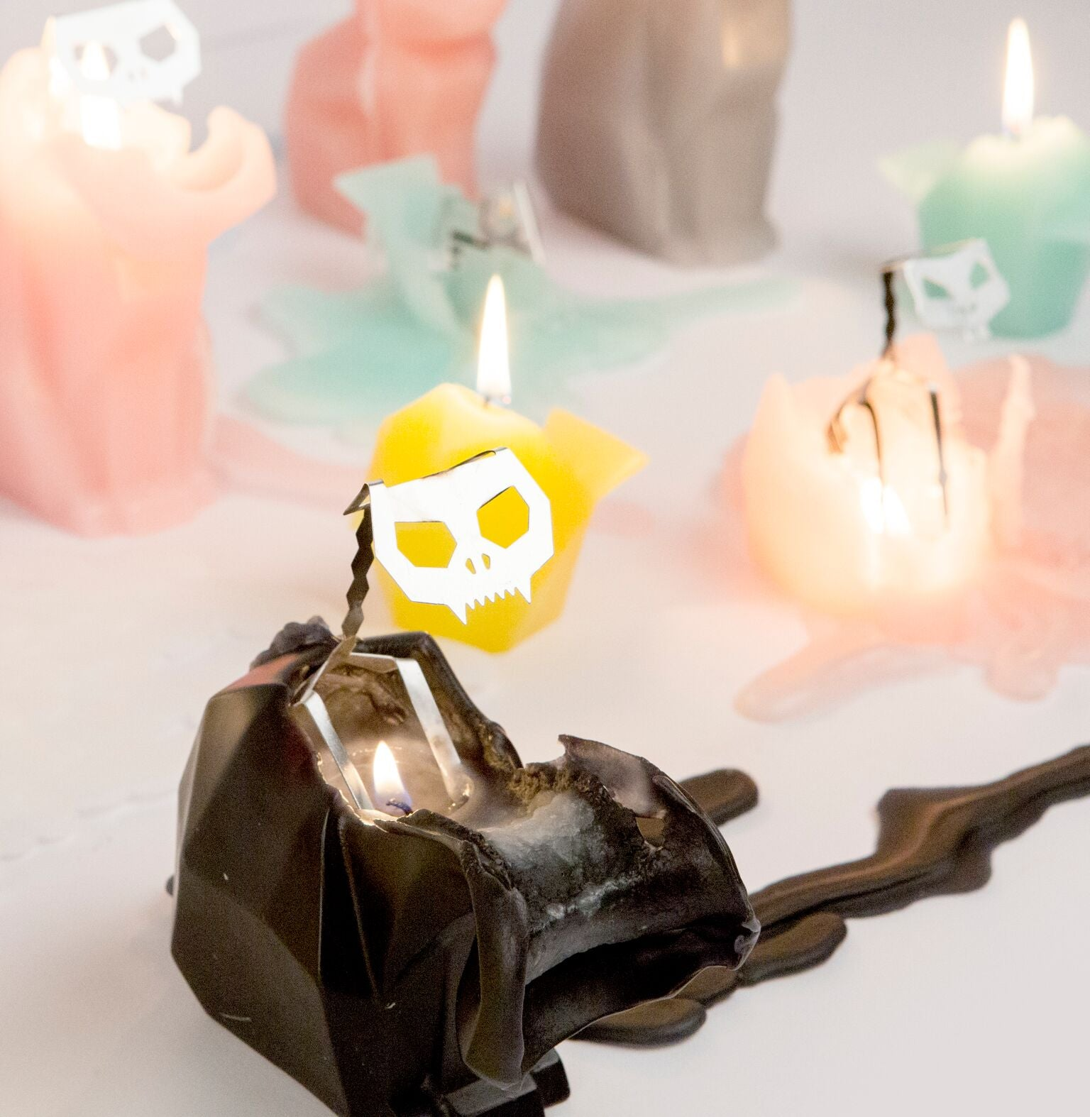 Pyropets featured as one of 10 Creepy Candles to Get you in the Halloween Mood