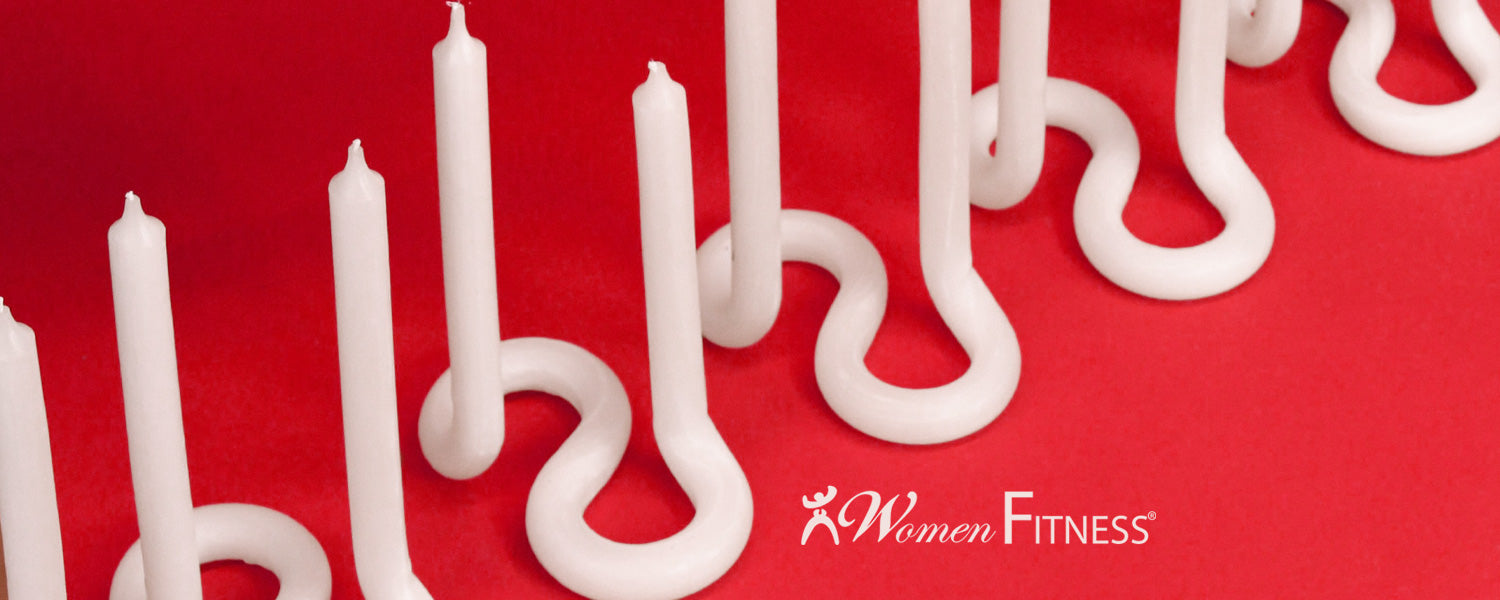 Our Twist candles featured on Women Fitness' Valentine Gift Guide 2021