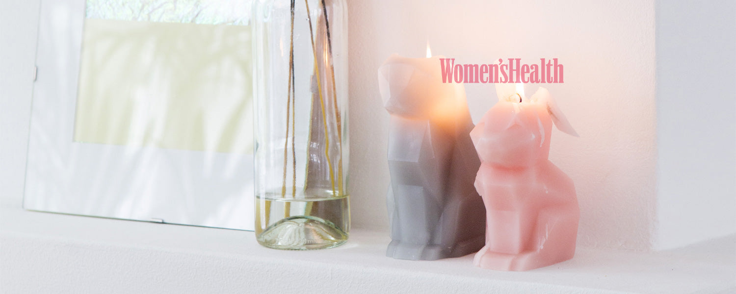 Women's Health magazine featured our PyroPet candles!
