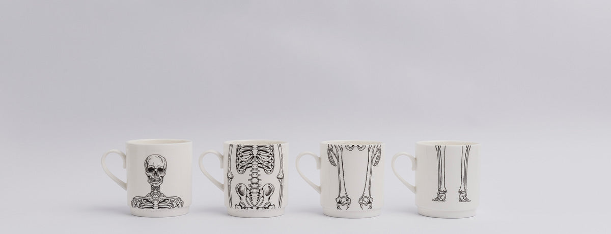 Skeleton Mugs