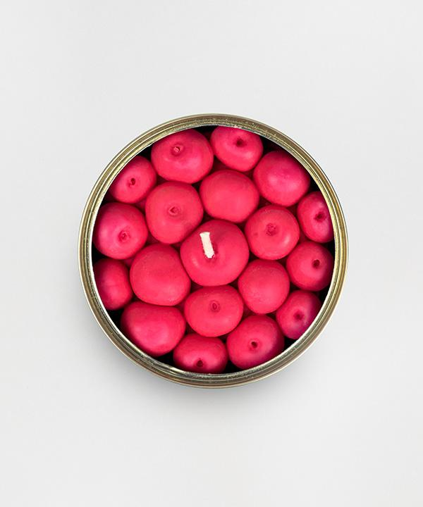 Candlecan - Fruity Cherry candle