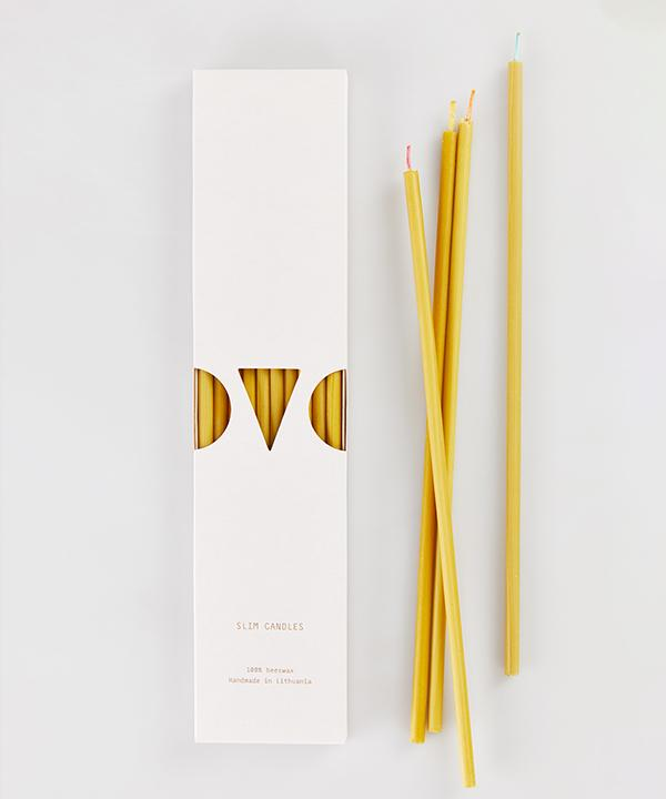 "OVO Things - Slim Candles 10"" long"