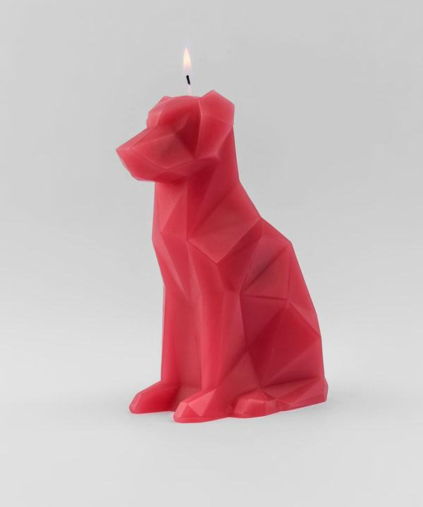 Voffi Dog Candle Berry