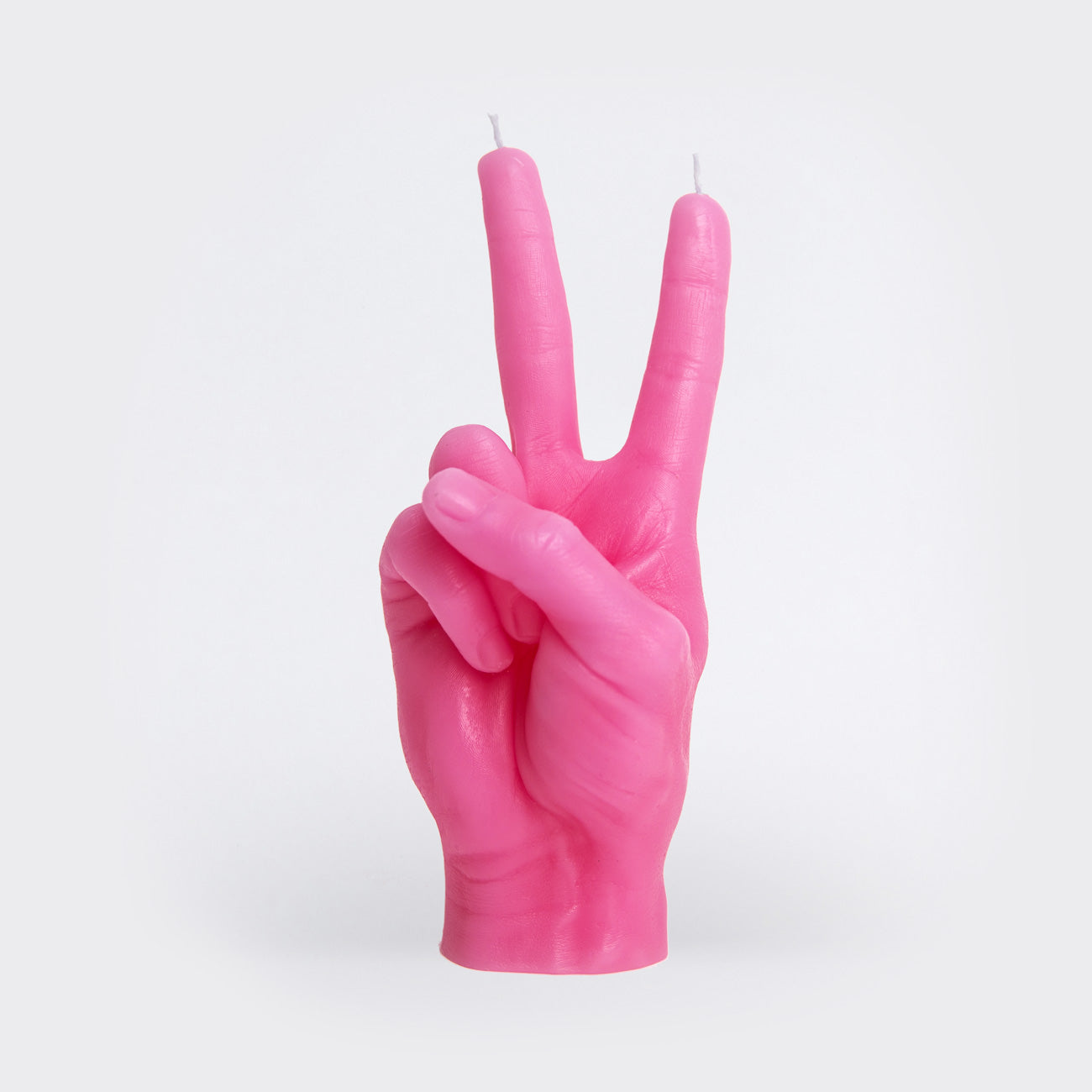 "CandleHand ""Victory/Peace"" Pink"