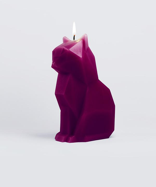 Kisa Burgundy candle