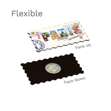 Flexible Fridge Magnet - Paris - Decorated Word