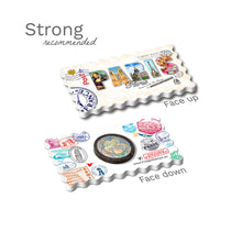 Strong Fridge Magnet - Paris - Decorated Word