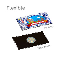 Flexible Fridge Magnet - Netherlands Illustrations