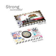 Strong Fridge Magnet - Los Angeles California State Flag