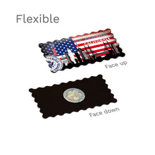 Flexible Fridge Magnet - San Francisco Decorated USA Flag