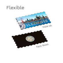 Flexible Fridge Magnet - Chicago Illinois Skyline