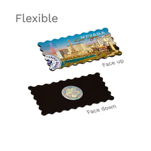Flexible Fridge Magnet - Sunny Skyline of Las Vegas, Nevada