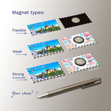 3 types of Fridge Magnets -Windmills Holland