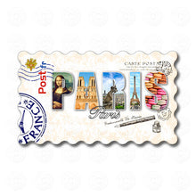 Fridge Magnet - Paris - Decorated Word