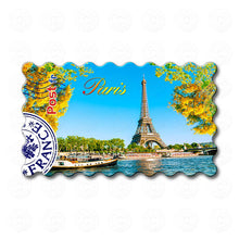 Fridge Magnet - Paris - Eiffel Tower in Autumn