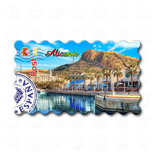 Alicante - Port of Alicante, Mount Benacantil