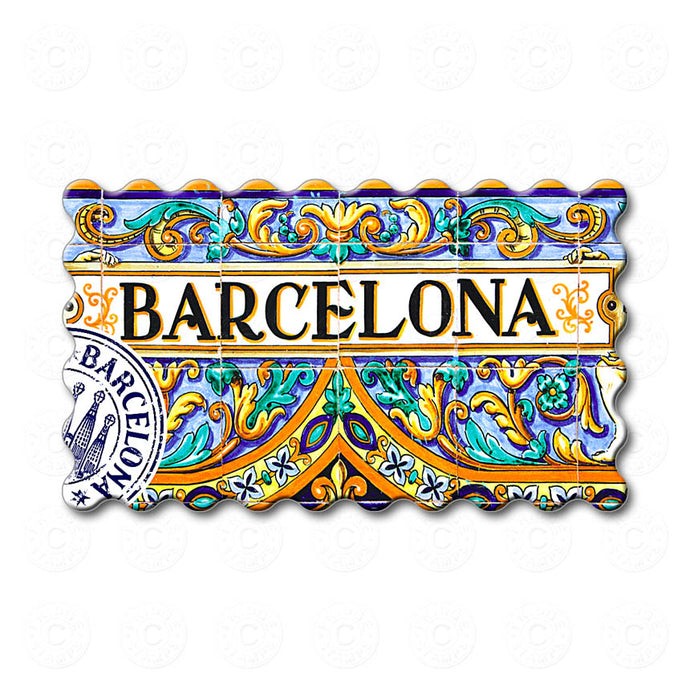 Barcelona - Famous Ceramic Decoration