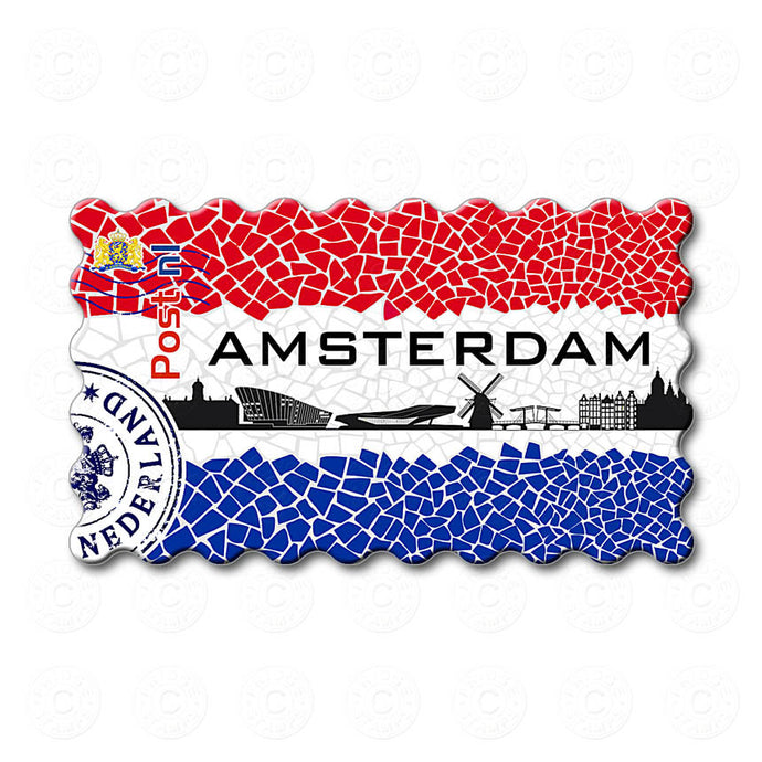 Fridge Magnet - Amsterdam Canals
