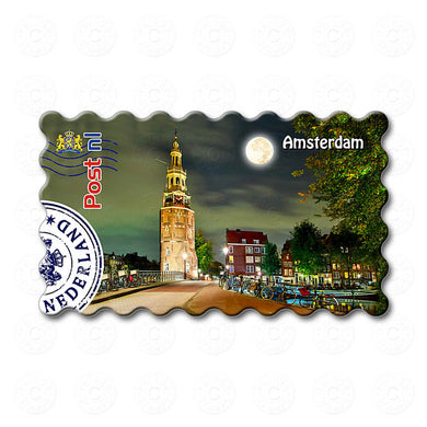 Fridge Magnet - Amsterdam Montelbaans Tower