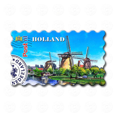 Fridge Magnet -Windmills Holland