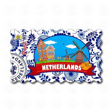 Fridge Magnet - Netherlands Illustrations