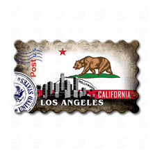 Fridge Magnet - Los Angeles California State Flag