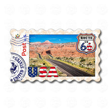 Fridge Magnet - Route 66 Grand Canyon USA