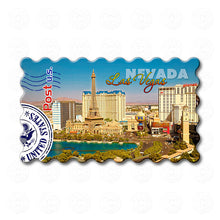 Fridge Magnet - Sunny Skyline of Las Vegas, Nevada