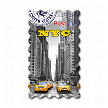 Fridge Magnet - New York - Yellow Taxis NYC