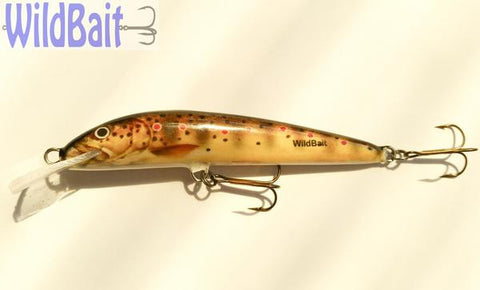 WildBait Minnow 9BBT