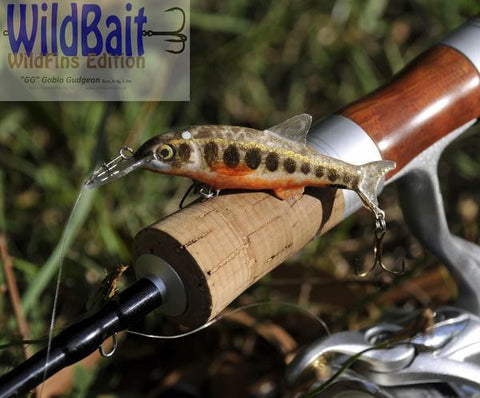 "WildBait WildFins Edition. ""GG"" Gobio Gudgeon"