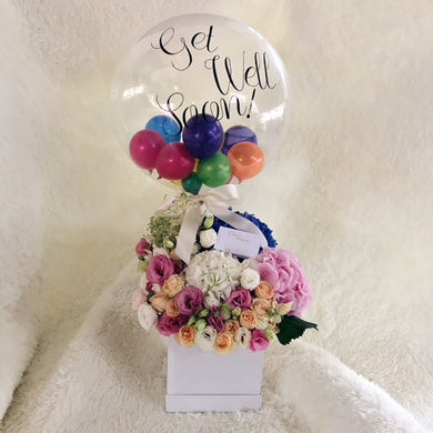 Grandeur - Flower & Balloon Box