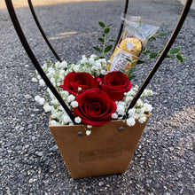 Everlast - Preserved Rose & Ferrero Rocher Bag