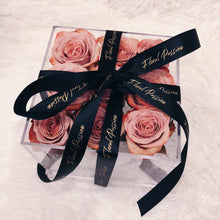 Signature Fresh Roses Acrylic Box