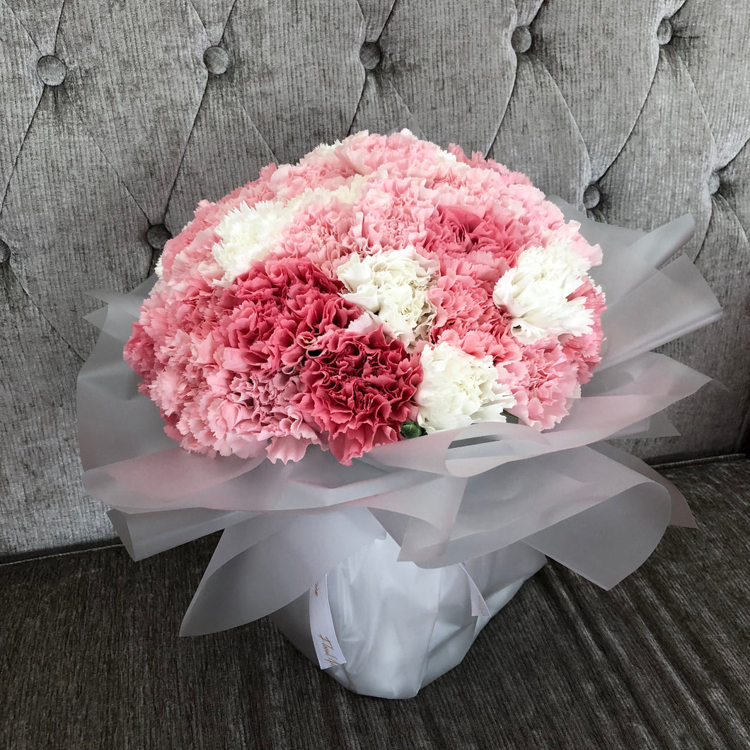 Pink Perfection - Carnation Mother's Day Bouquet