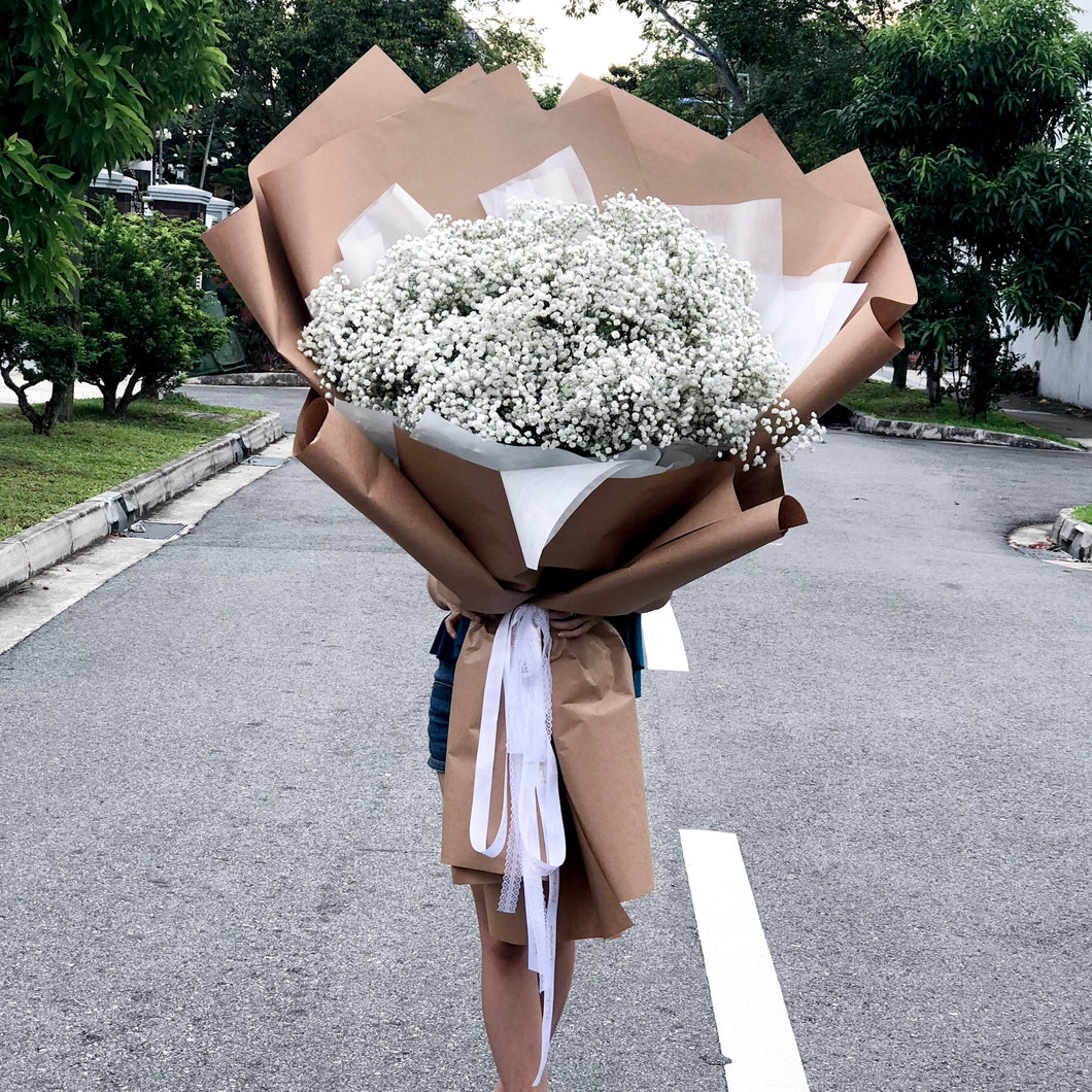 Take My Breath Away - XXL Baby's Breath Bouquet