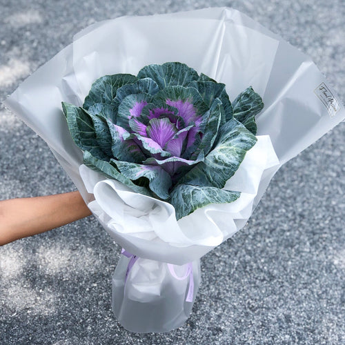 For Mom - Cabbage Flower Bouquet